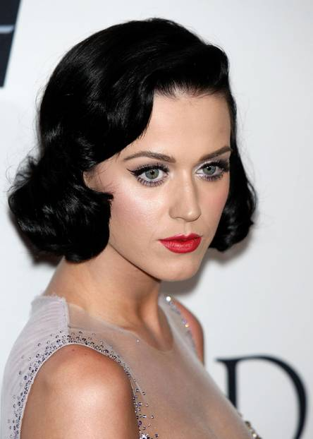 Katy Perry trägt einen Cat Eyeliner