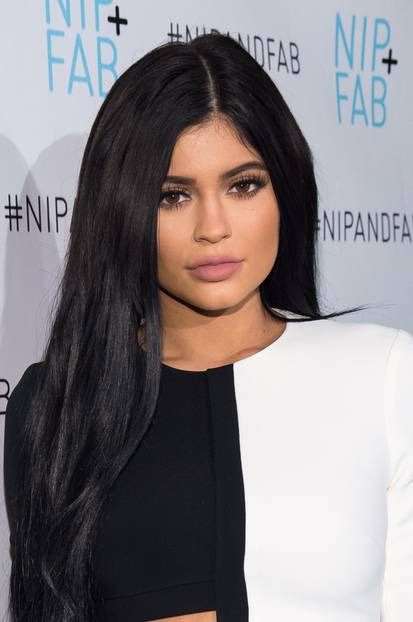 Kylie Jenner mit matten Lippen