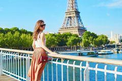 Französische Frau