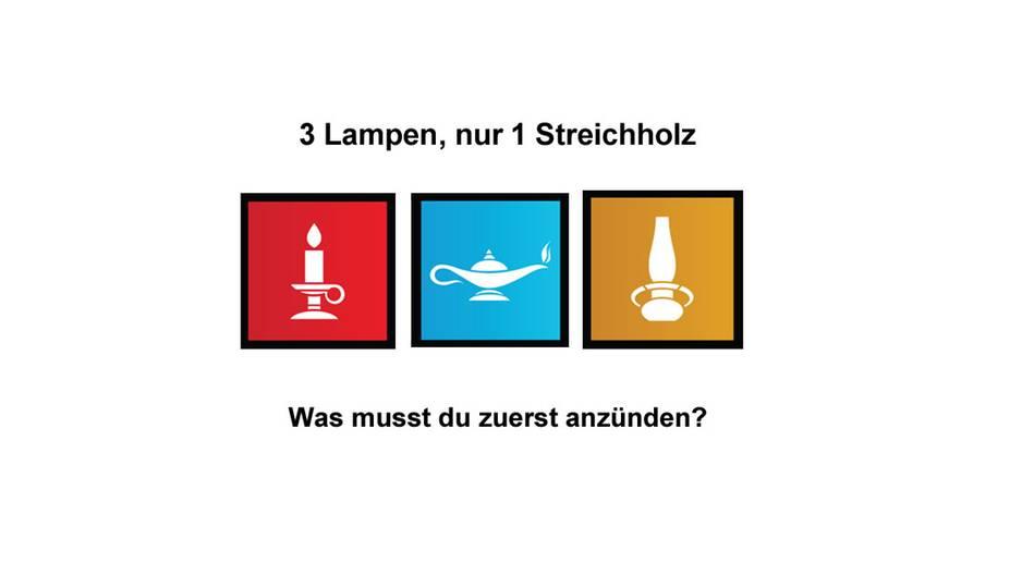 Kennst du die richtige Lösung?