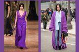 Streetslooks mit Pantone Farbtrend Herbst 2017 Royal Lilac