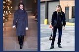 Streetslooks mit Pantone Farbtrend Herbst 2017 Navy Peony
