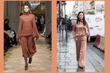 Streetslooks mit Pantone Farbtrend Herbst 2017 Copper Tan