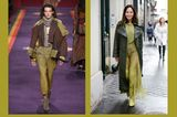 Streetslooks mit Pantone Farbtrend Herbst 2017 Golden Lime