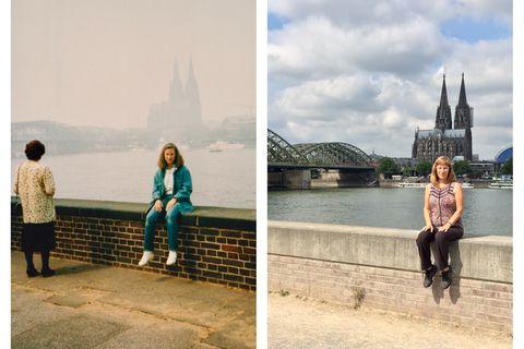 Nach 30 Jahren: Diese Frau stellt ihre Urlaubsfotos nach