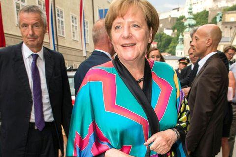 Angela Merkel bei den Salzburger Festspielen