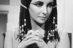 Elizabeth Taylor spielte 1963 in dem Film Cleopatra mit
