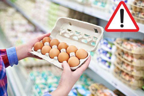 Eier-Rückruf