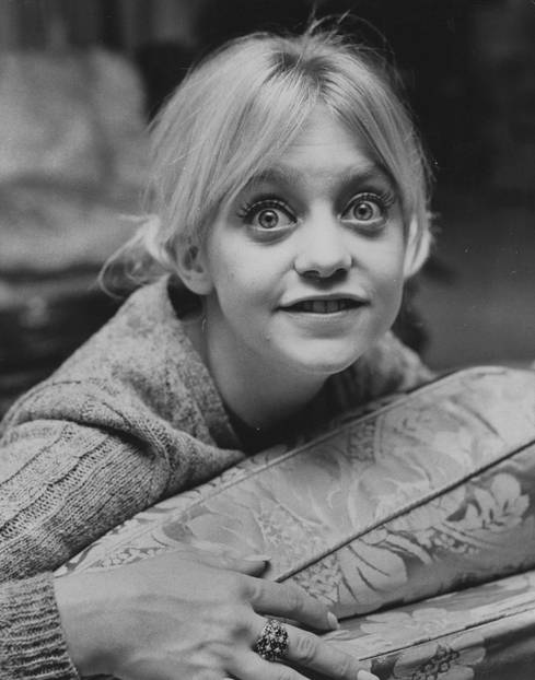 Goldie Hawn war ein Hollywood-It-Girl