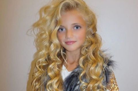 Walle-Mähne und Fake-Lashes: Katie Prices kleine Tochter sieht aus wie 20!