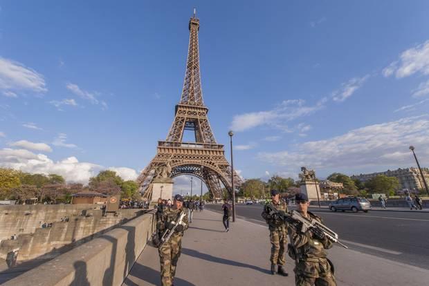 Paris, Soldaten