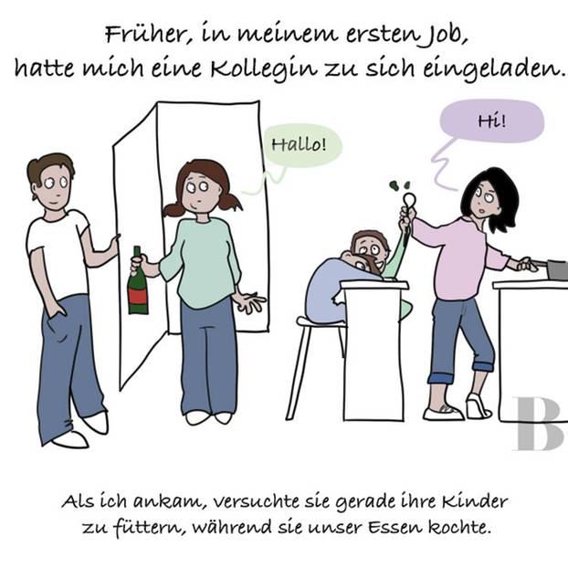 Französische küche comic  Warum helfen Männer nicht im Haushalt? | BRIGITTE.de