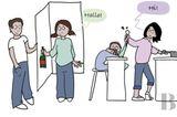 Aha!: Dieser Comic erklärt, warum Männer nicht im Haushalt arbeiten