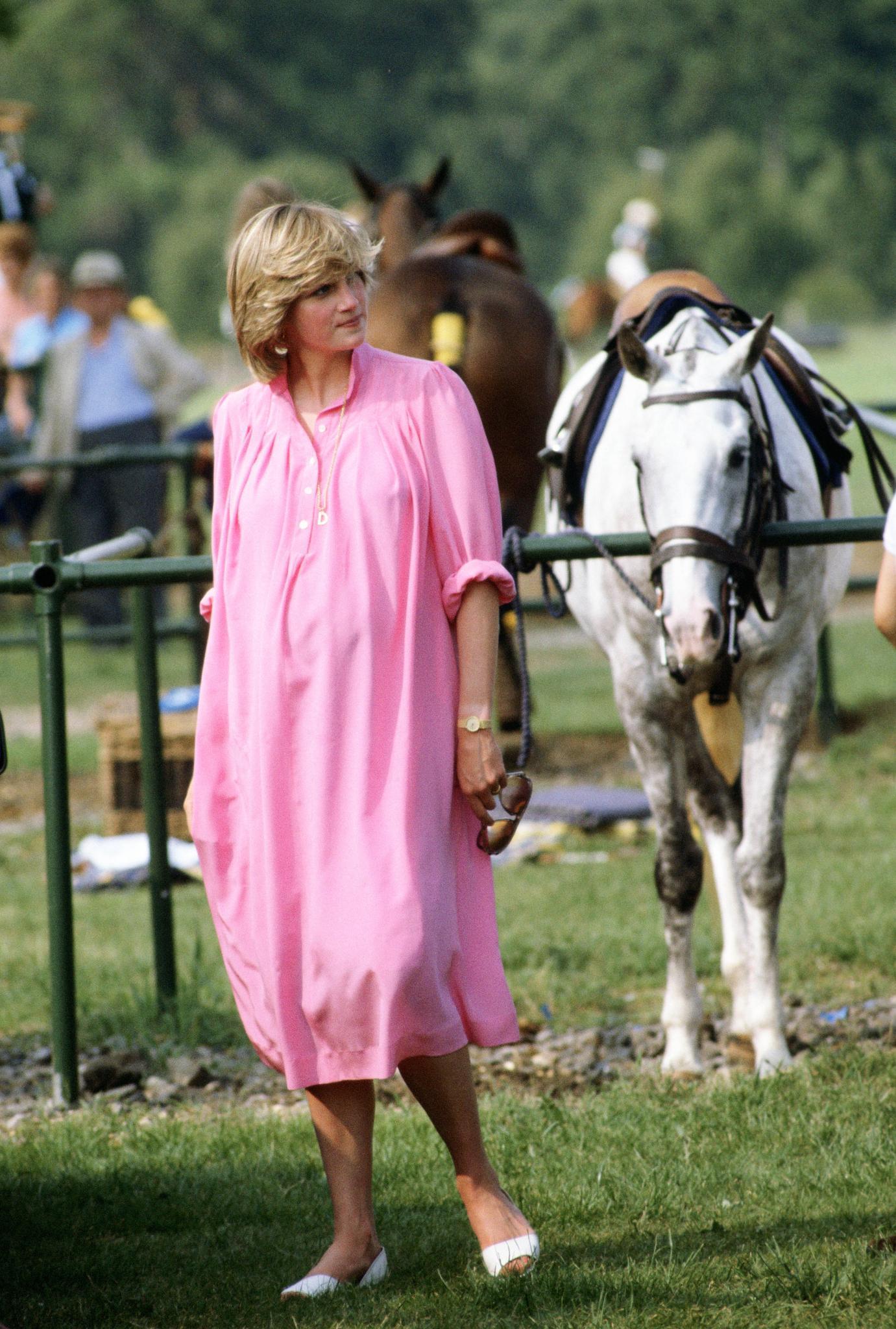 Prinzessin Diana schwanger