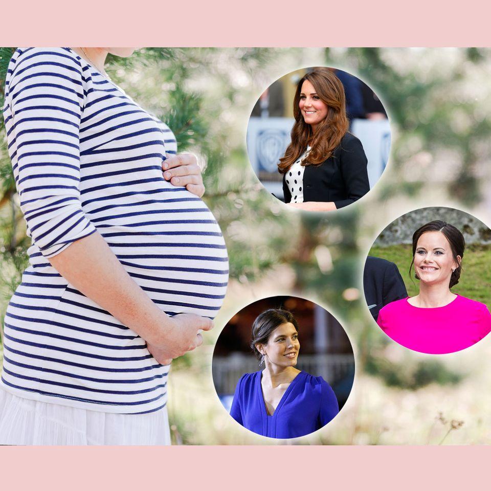 Die Schwangerschaftslooks der Royals