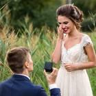 Heiratsantrag : Mann macht Frau Antrag