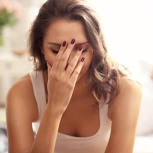 Ablehnung: Verzweifelte Frau