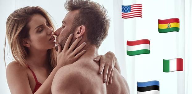 Sex-Gesetze: Pärchen küsst sich