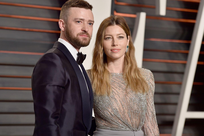 Süße Bilder: Der Sohn (2) von Justin Timberlake ist ein richtiger Wirbelwind