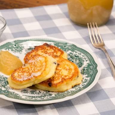 Quarkkeulchen ohne Kartoffeln