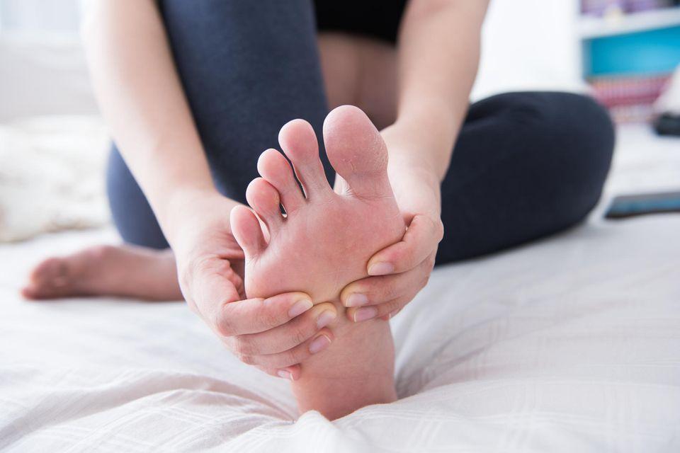 Fußreflexzonenmassage selber machen