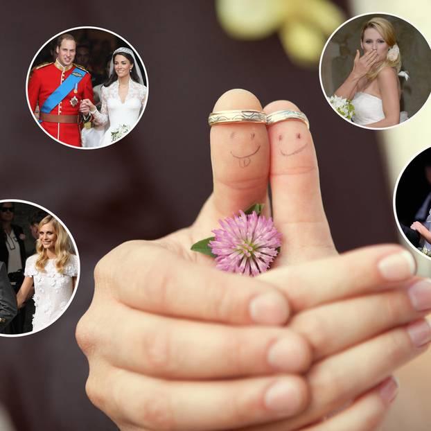 Die Hochzeitskleider der Stars