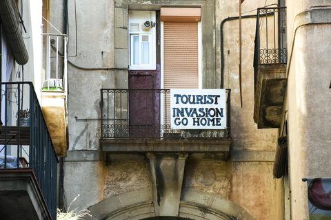 Proteste gegen Touristen in Südeuropa