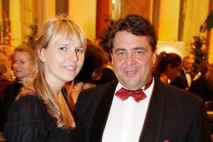 Sigmar Gabriel und seine Frau Anke