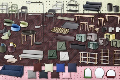 IKEA und HAY zeigen uns alle Teile ihre YPPERLIG-Kollektion.