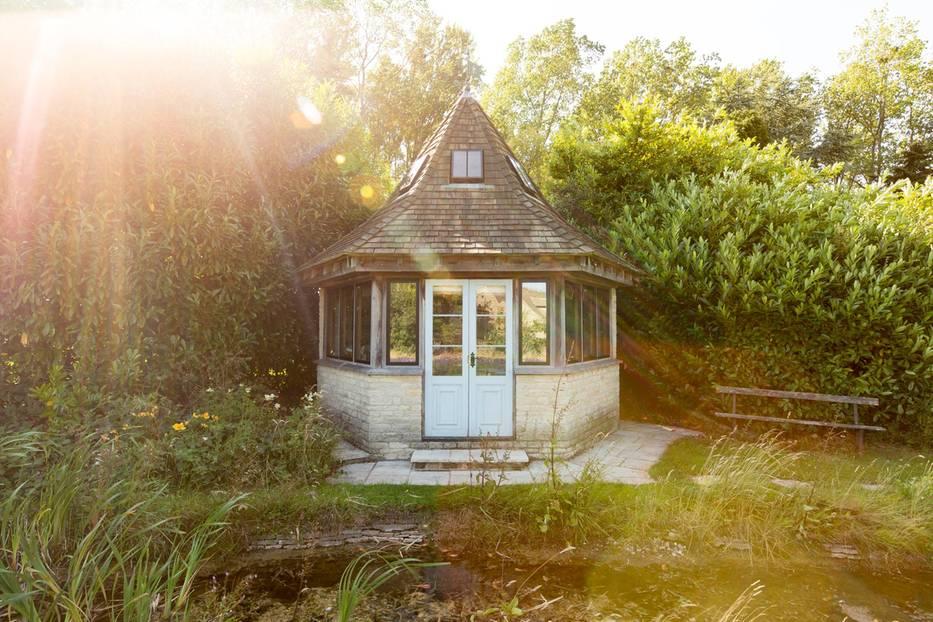 England: Urlaub im Gartenhaus