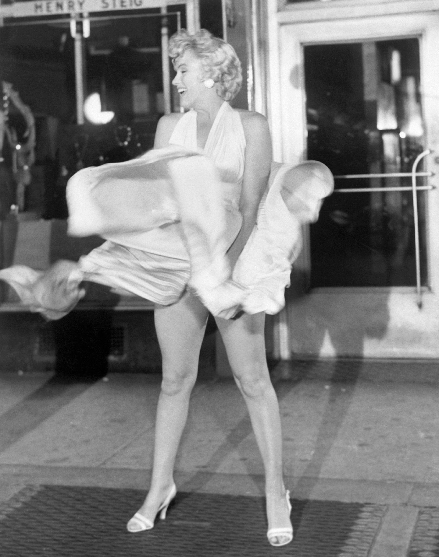 Kleider-Skandal von Marilyn Monroe bei den Dreharbeiten
