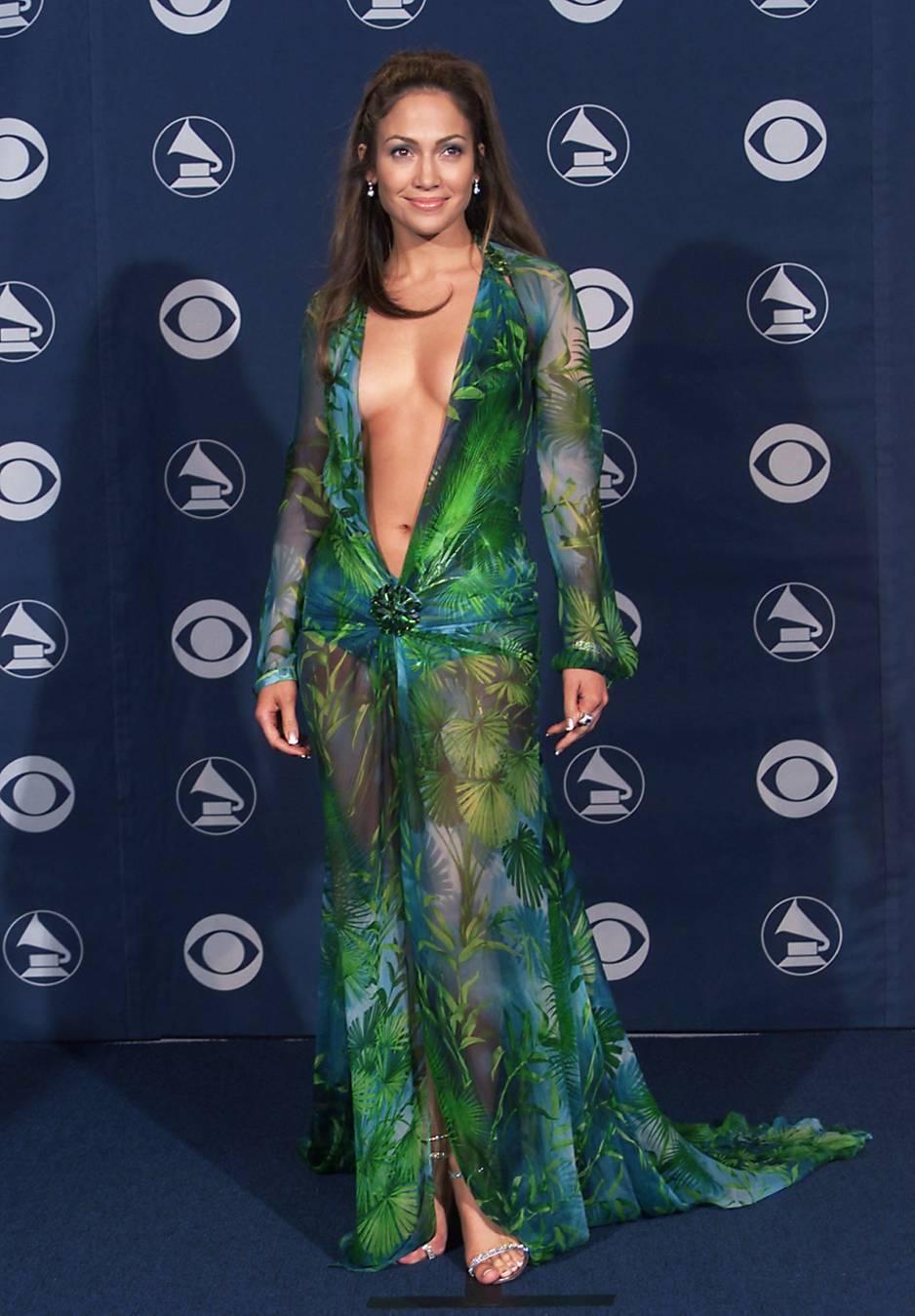 Kleider-Skandal von Jennifer Lopez