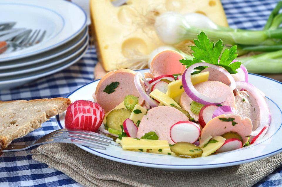 Wurstsalat selber machen: unsere Rezepte