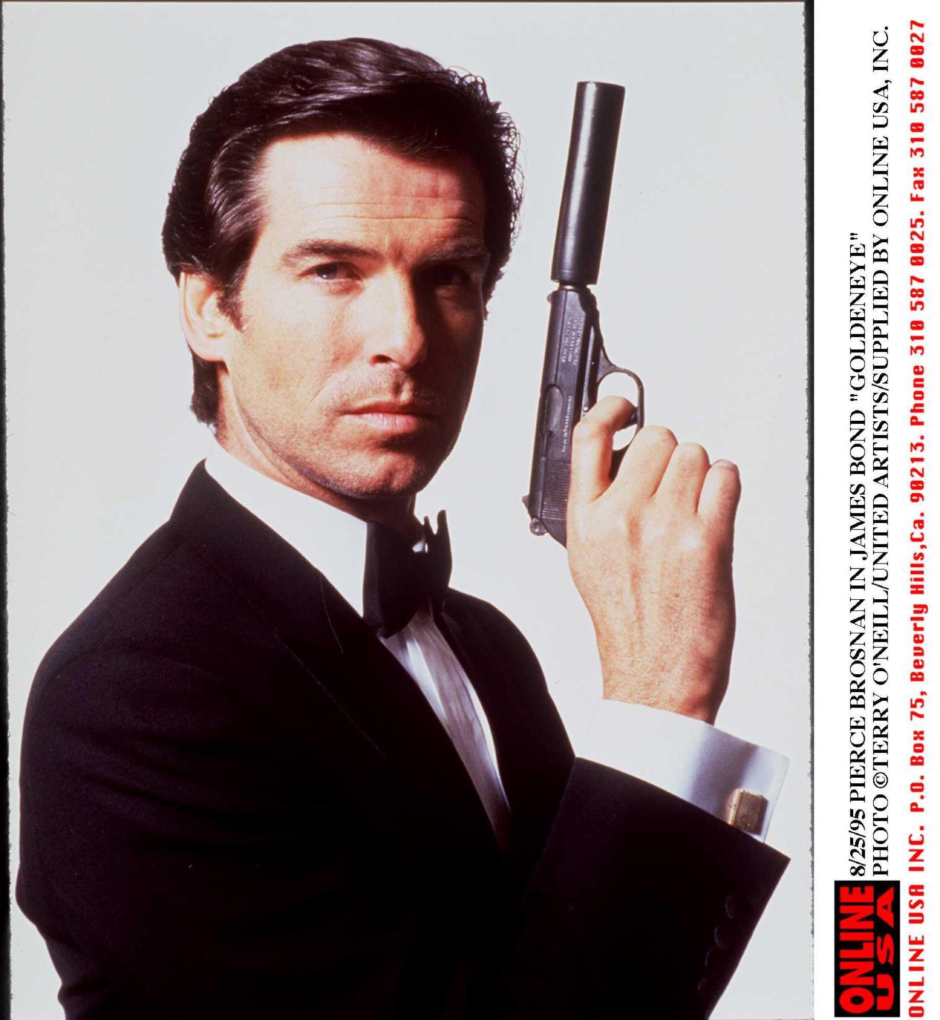 Sexiest Man Alive 2001 - Pierce Brosnan