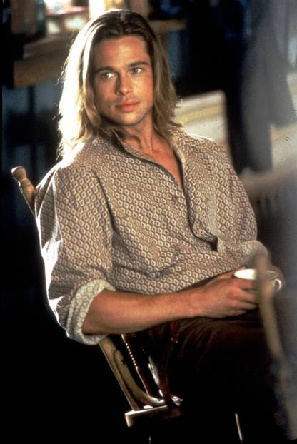 Sexiest Man Alive 1995 - Brad Pitt