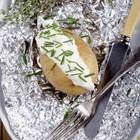 Ofenkartoffel mit Creme fraiche