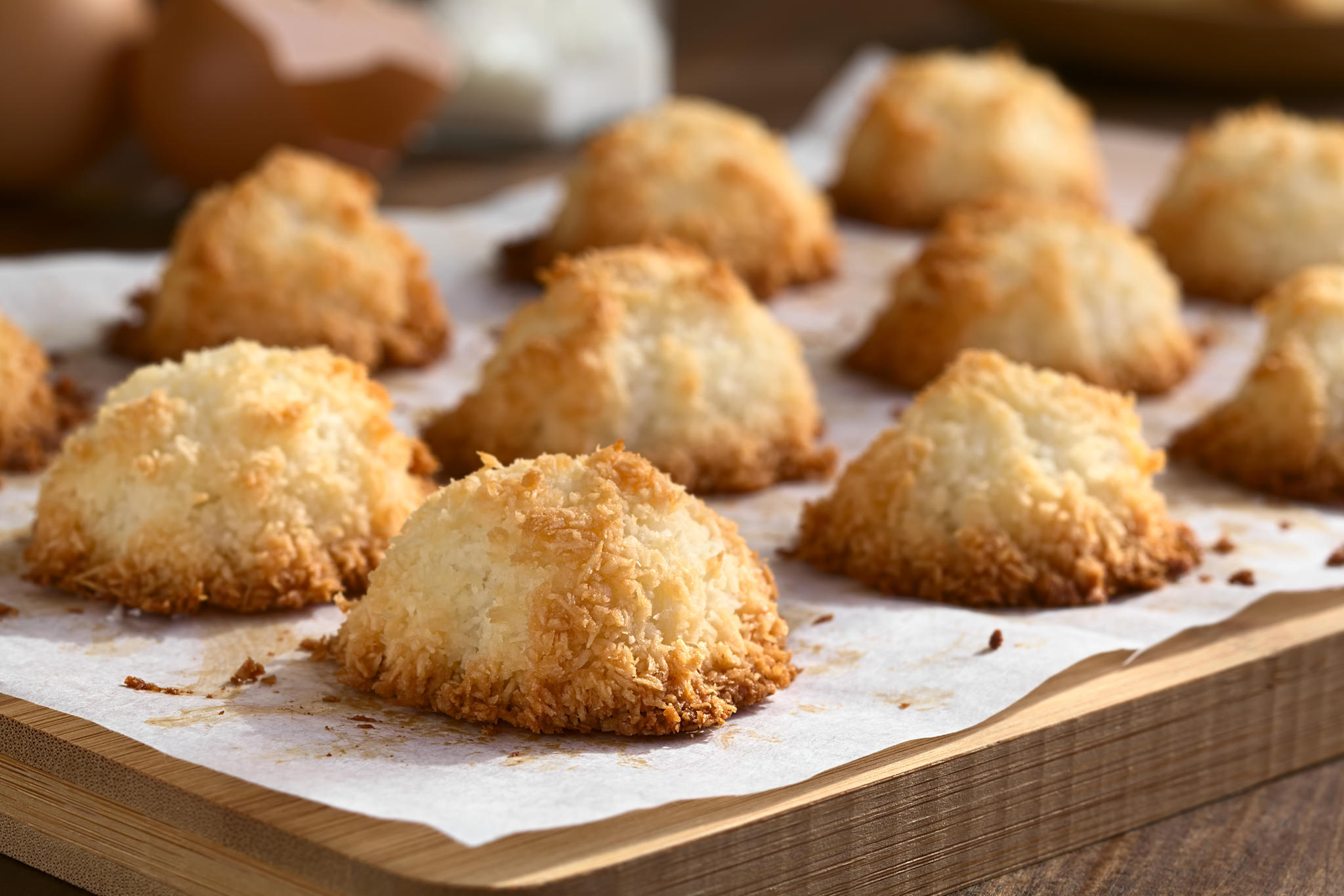 Weihnachtsplätzchen Kokosmakronen.Kokosmakronen Das Beste Rezept