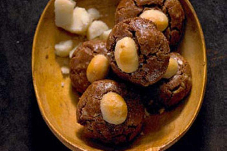 Macadamia-Köpchen