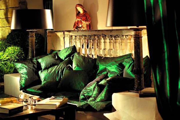 Bleiche Resort & Spa: Kuschelecke in der Hotelhalle