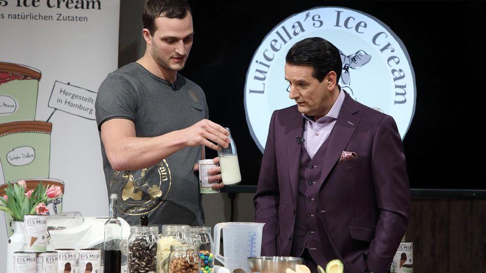 'Luicella's Eis-Mix' macht's möglich: Eis zu Hause selber machen - mit nur 1 Zutat