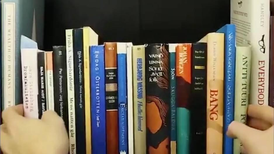 """Was hinter diesem """"Bücherregal"""" befindet, ist wirklich genial"""
