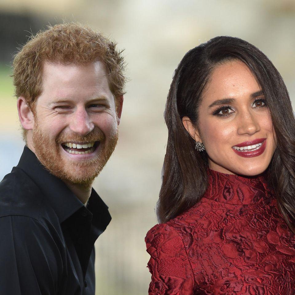 """Meghan Markle spricht über Prinz Harry: """"Ja, wir sind sehr verliebt!"""""""