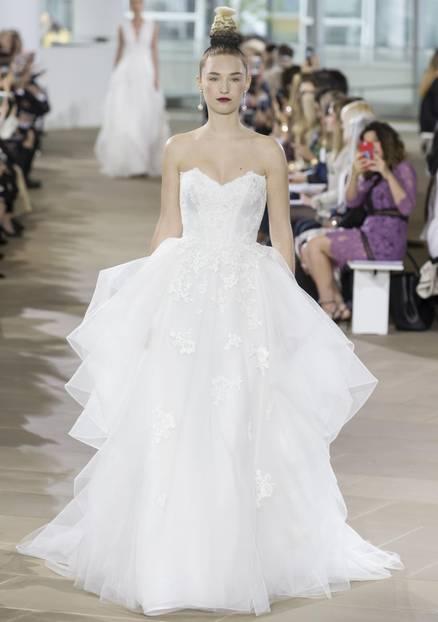 Brautkleid mit Corsage