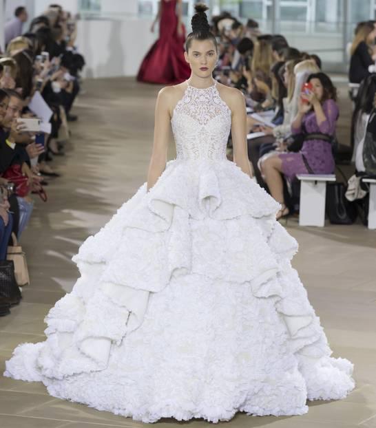 Hochzeitskleid in Weiß
