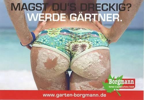 Sexistische Werbung - zorniger Kaktus