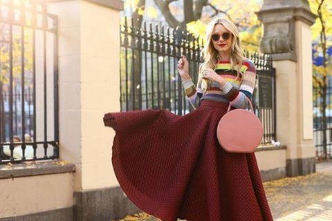 We love! Der bunte Streifen-Pulli ist DAS neue Trendteil im Herbst