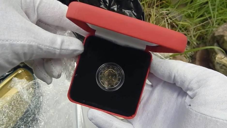 Schau mal nach: Diese 2€-Münze ist richtig viel wert!