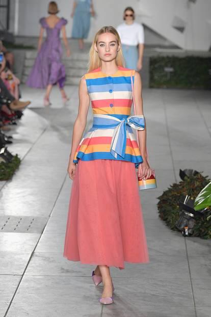 Bonbon-Farben bei Carolina Herrera