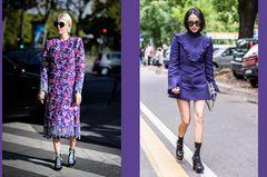 Pantone Frühjahr 2018: Farbe Ultra Violet als Streetstyles
