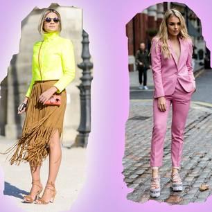 Pantone 2018 Farbtrends fürs Frühjahr als Streetstyle